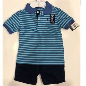 IZOD kids 2 piece shorts set for boy - size 4